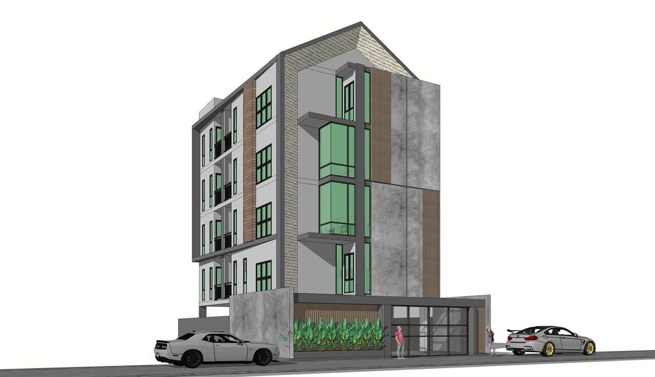 บริษัทรับเหมาก่อสร้างอพาร์ทเม้นท์